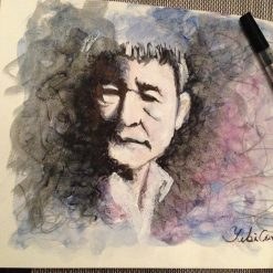 Portrait of TAKESHI KITANO (Japanese film director, actor and comedian)