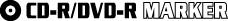 LOGO CDR-DVR MARKER